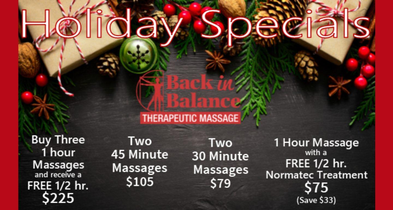 Holiday Specials Bib
